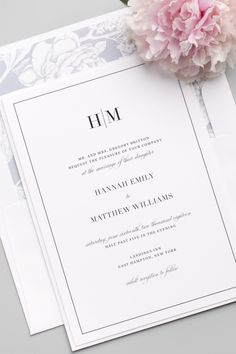 Great Free Glam Monogram Wedding Invitations Style Wedding Invitation Cards-Our Methods When the time of your wedding is repaired and the Spot is booke Classy Wedding Invitations, Monogram Wedding Invitations, Wedding Invitation Design, Wedding Stationary, Shower Invitations, Invitation Wording, Invitation Ideas, Black And White Wedding Invitations, Birthday Invitations