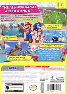 Mario & Sonic at the London 2012 Olympic Games Wii Video Game | Buy Mario & Sonic at the London 2012 Olympic Games for Wii | Rent Mario & Sonic at the London 2012 Olympic Games - www.gamefly.com