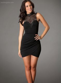 Shop black prom dresses and long black dresses at PromGirl. Black short homecoming dresses, black formal evening gowns, black mini dresses, black cocktail party dresses, and sexy little black dresses. Sexy Little Black Dresses, Black Prom Dresses, Elegant Dresses, Homecoming Dresses, Sexy Dresses, Cute Dresses, Short Cocktail Dress, Gowns, Detail