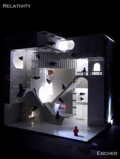 A Lego interpretation of Escher's Relativity M. C. Escher