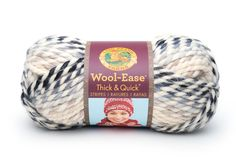 Amazon.com: Lion 640-146J Wool-Ease Thick & Quick Yarn, 97 Meters, Fig