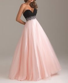 I found 'Beading A-line Chiffon Ballgown Bridesmaid Prom Evening Tulle Long Maxi Dress  ' on Wish, check it out!