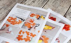 Printable Instructions for Paper Rose
