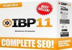 iBusinessPromoter (IBP) is the award-winning web site promoter.IBP is the only SEO software tool that guarantees top 10 rankings for keywords of your choice. IBP offers all the tools you need to get top rankings, including tools for website optimization, link building, search engine submission and more. $30