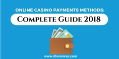 Interested in Gambling online? Then have a look at our online casino payment methods guide in order to find the right one for you to use at online casinos. Open Guide Now:- https://bit.ly/2FPZfCB #onlinecasinogames #onlinecasinobonus #onlinecasino #Dharamraz #CasinoPayments2018 #OnlineCasinoPayment