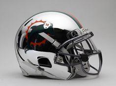 Dolphins Chrome Xenith´s helmet... #xenithx2