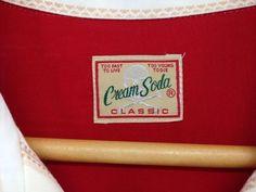 ★ 129 CREAM SODA クリームソーダ 長袖シャツ ロカビリー T3365_画像3 Cream Soda, Classic, Derby, Classic Books