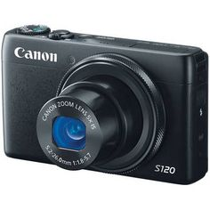 Canon Power Shot S120 Point-and-Shoot Camera; I'd miss my SLR, but the 7.56 ounce weight is compelling.