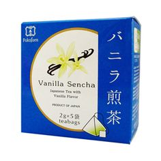 Vanillaflavoured sencha green tea bags are perfect for entertaining guests at home and at work. Vanilla green tea has a sweet and lasting flavour.Foundedin 1790 in Kyoto, Fukujuen is one of the most respected and prestigious green tea sellers in Japan.  Gift packs with 6 and 9flavoured tea bags available.  6 assorted flavoured sencha green tea 9 assorted flavoured sencha green tea  Producer: Fukujuen, Kyoto Country of manufacturing: Japan Amount: 2g x 5 bags in a box Shelf life: 365…