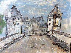 Le pont Henri IV EN DIRECTION DE CHATELLERAULT. ..PAR AVA