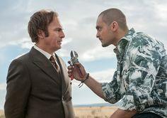 Better Call Saul - Season 1 Episode 2 - Jimmy McGill (Bob Odenkirk) and Nacho Varga (Michael Mando)