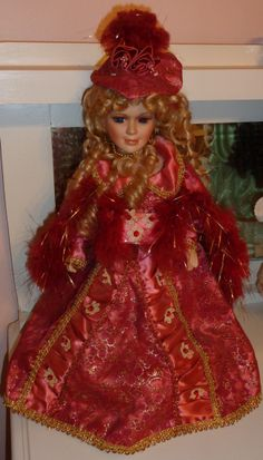 Victorian Collection Genuine Porcelain Doll | From my collection | Victorian porcelain dolls