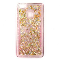 for huawei P9 Lite case Vannego Fashion Dynamic Liquid Glitter Colorful Paillette  Sand Quicksand soft TPU Back water cover Case bd00599805d5
