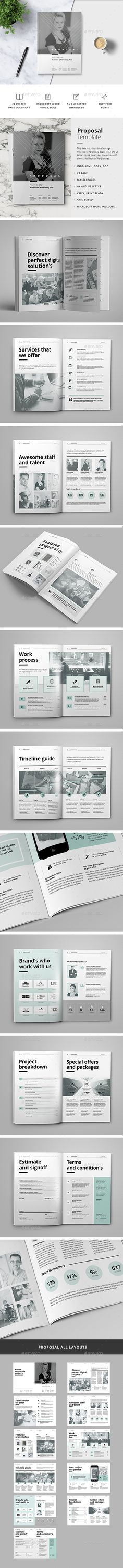 Web Proposal Project Template  Proposal Proposaltemplate