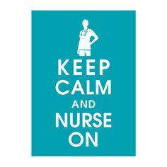 Hey, j'ai trouvé ce super article sur Etsy, chez https://www.etsy.com/fr/listing/87155092/garder-calme-et-infirmiere-5-x-7-poster