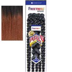 "Mon Oct 23, 2017 - #4: Freetress Pixel Braid 12"" - Color OT30 - Synthetic Braiding"