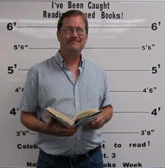 "September 2015 - Banned Books Week - ""I've Been Caught Reading Banned Books!"" - September 27th thru October 3rd - USU Eastern/Price Faculty Member"
