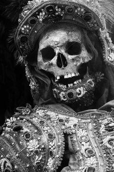 jeweled skeleton, 16th century