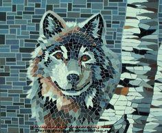 Mosaïque Loup