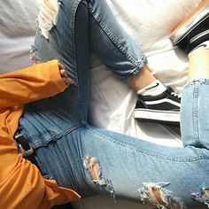 jeans, outfit, and tumblr image