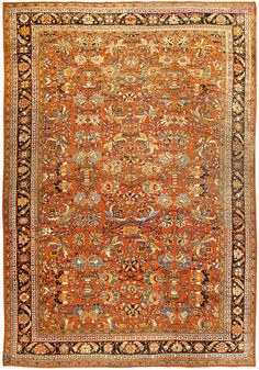 Persian Sultanabad rug - Antique Persian Rug - Antique Rug - BB4517 by Doris Leslie Blau