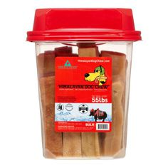 Himalayan Dog Chew Large Bulk Chew, 3 Lb