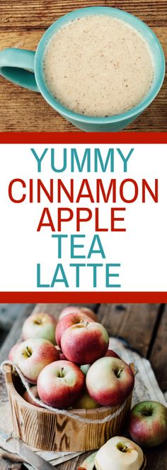 Yummy Cinnamon Apple Tea Latte Getting out the door in time for work and nourishing your body can be difficult. This Yummy Cinnamon Apple Tea Latte is a great way to start your day. Smoothies, Smoothie Drinks, Smoothie Recipes, Tea Recipes, Fall Recipes, Cooking Recipes, Drink Recipes, Yummy Drinks, Healthy Drinks