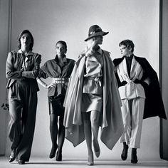 Sie Kommen (Elles arrivent), Vogue France, Paris, 1981