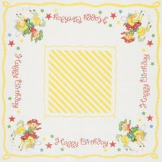 Buckaroo Birthday Napkin
