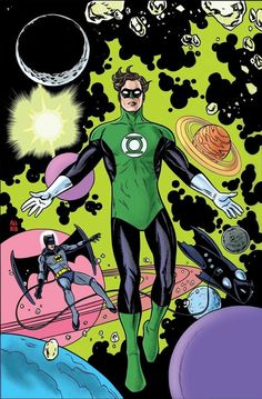 Green Lantern #31 variant cover by Mike Allred *