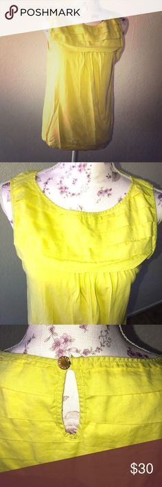 Michael by Michael Kors yellow blouse Used no flaws in excellent condition true to size MICHAEL Michael Kors Tops Blouses