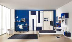 Slaapkamer Inrichten Blauw : Beste afbeeldingen van blauwe slaapkamers bedroom decor