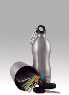 Sport+Store Stainless Steel Water Bottle from YogaAccessories.com.  Find discount codes for free shipping, 15%OFF, 25%OFF and more for this store here:      www.couponfinder.com/s/641730/Yoga-Accessories-coupons?xtrnl=pinterest