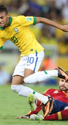 Neymar------Brazil----- in action