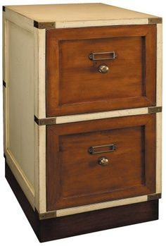 Campaign Ivory File Cabinet