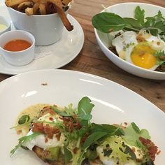 Fueled up on a tasty #brunch before #winestudy. Time to help friends prep for Intro Somm exam! #austin360eats