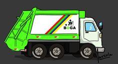 caminhão do lixo