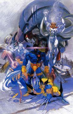 """comicbookartwork: """"X-MEN """""""
