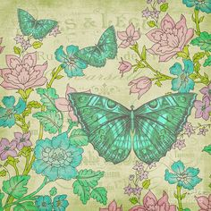 Jean Plout Print featuring the painting Jardin De Luxe-jp3067 by Jean Plout