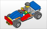 Lego instructions for various vehicles