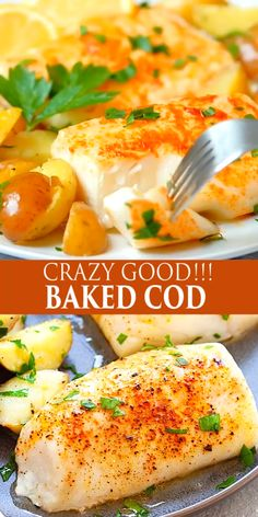 Best Cod Recipes, Healthy Recipes, Healthy Chef, Eat Healthy, Diet Recipes, Recipies, Salmon Recipes, Cod Fillet Recipes, Recipes With Cod Fish