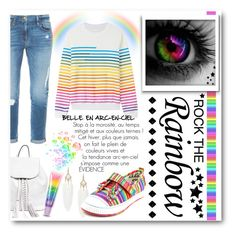 """Rainbow Style"" by drinouchou ❤ liked on Polyvore featuring Frame Denim, TigerBear Republik, Rebecca Minkoff, Mary Katrantzou, women's clothing, women's fashion, women, female, woman and misses"