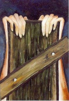 Art by Holocaust Survivor Hanka Kornfeld-Marder