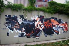 Spoare The Cutter (frankfurt (oder), by on DeviantArt Graffiti Pictures, Graffiti Artwork, Graffiti Drawing, Graffiti Lettering, Pencil Art Drawings, Art Mural, Art Sketches, Best Graffiti, Street Art Graffiti