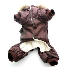 Pet Clothes Winter Warm Dog Padded Hooded Jackets Four Legs Jumpsuit Pants Apparel Coats Air force Size XS-XL 2018 Brand New Dog Pads, Dog Winter Coat, Cat Costumes, Warm Coat, Pet Clothes, Hooded Jacket, Winter Outfits, Winter Jackets, Hoodies