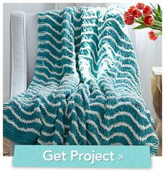 Whitecap Waves Blanket.