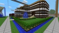 My son would love to make a house like that in Minecraft :)