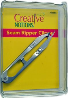 Amazon.com: Tacony Sewing Metal Seam Ripper Clippers