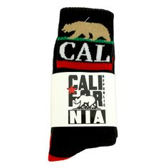 Cal State Socks from California Republic Clothes
