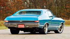 1968 Chevy Chevelle Ss Rear View: The Chevrolet Chevelle was a mid-sized automobile produced by the Chevrolet division of General Motors in three generations fo Chevy Chevelle Ss, Chevrolet Chevelle, Pontiac Gto, Chevy Ss, Chevrolet Auto, Chevrolet Malibu, Volkswagen, Automobile, Toyota